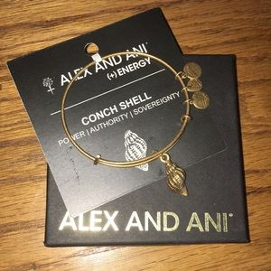 Alex and Ani Conch Shell Bangle
